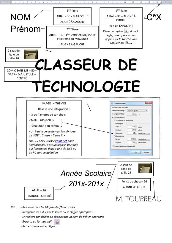 Techno 3ème Bienvenue 3ème Leclerc De Saint Gaudens